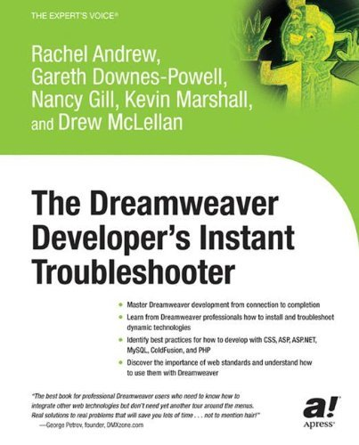 The Dreamweaver Developer's Instant Troubleshooter